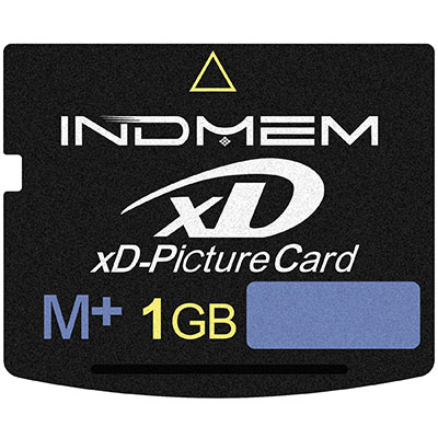 xD Picture Card 1GB Type M+
