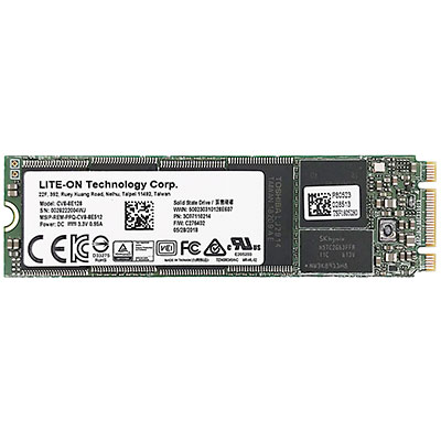 LITE-ON 128GB SSD m.2 NGFF 2280 3D NAND RAID Solid State Drive