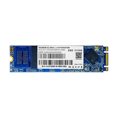 INDMEM Internal SSD M.2 2280/2260/2242 3D NAND MLC Flash Solid State Drive